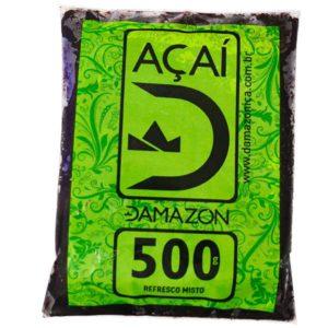 Sachê de Polpa de Açaí Damazon 500g - Distribuidora Damazônica