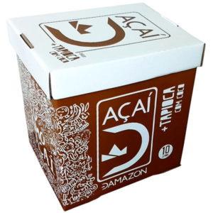 acai com tapioca e coco damazon distribuidora damazonica10L