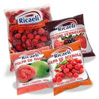 Poupa de Fruta Ricaeli - Distribuidora Damazonica