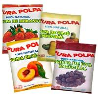 Polpa de Fruta Pura Polpa - Distribuidora Damazonica